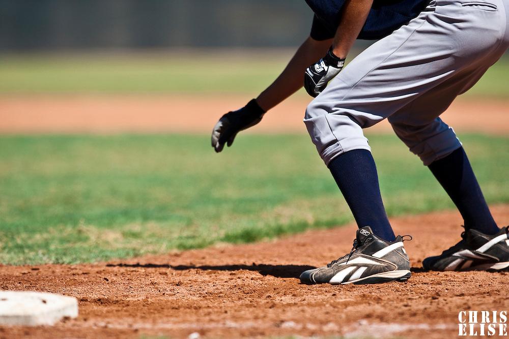 Baseball - MLB European Academy - Tirrenia (Italy) - 20/08/2009 - first base runner