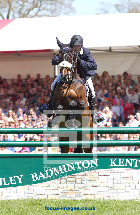 Picture by Sophie Elbourn/Focus Images Ltd +447595 944177.06/05/2013.Sam Griffiths and Happy Times pictured during Badminton Horse Trials at Badminton, Gloucestershire.