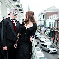 Luke & Christina Wedding Album - 2015 Halloween Wedding Second Line 1216 Studio New Orleans Wedding Photography