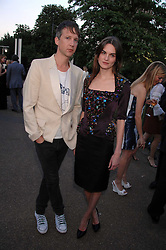 JEFFERSON HACK and ANOUCK LEPERE  at the annual Serpentine Gallery Summer Party in association with Swarovski held at the gallery, Kensington Gardens, London on 11th July 2007.<br />