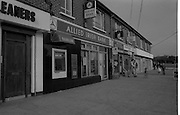 Credit Union Official Shot Dead In Artane. (R63)..1987..25.08.1987..08.25.1987..25th August 1987..While depositing takings in the night safe of Allied Irish Bank in Atrane, Mr Michael Thackaberry was confronted by two armed raiders. The raiders snatched the money and made off on foot. Mr Thackaberry gave chase and was gunned down by one of the raiders as he attempted to recover the money. Mr Thackaberry died at the scene of the shooting...Image shows the Allied Irish Bank in Artane, the scene of the robbery.