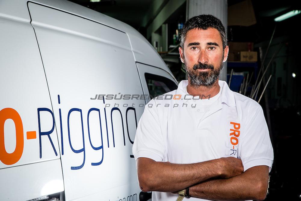 Pro-Rigging crew in Palma de Mallorca. May 12th 2015 ©Jesus Renedo