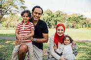 Family at Lumpini
