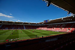 SOUTHAMPTON, ENGLAND - Thursday, April 5, 2018: Wales players during a training session at St. Mary's Stadium ahead of the FIFA Women's World Cup 2019 Qualifying Round Group 1 match against England. (Pic by David Rawcliffe/Propaganda)