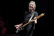 "Roger Waters performs ""The Wall"" on October 29, 2010 at the Scottrade Center in St. Louis, Missouri"