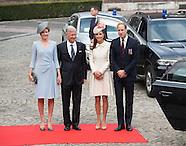 KATE, Will & European Royals Attend WW1 Commemoration