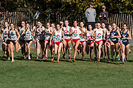 New York, New York - Runners take off at the start of the Ivy League Heptagonal women's<br />