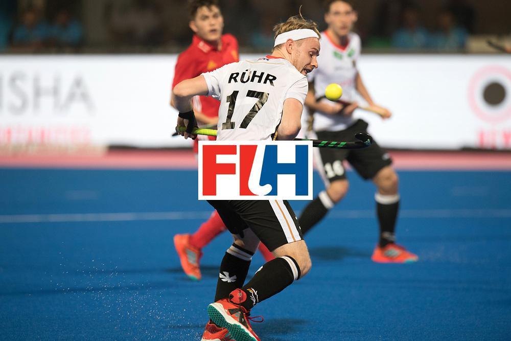 Odisha Men's Hockey World League Final Bhubaneswar 2017<br /> Match id:01<br /> Germany v England<br /> Foto: Christopher Ruehr (Ger) <br /> WORLDSPORTPICS COPYRIGHT FRANK UIJLENBROEK