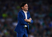 SEVILLE, SPAIN - OCTOBER 15:  Marcelino Garcia Toral of Valencia CF looks on during the La Liga match between Real Betis and Valencia at Estadio Benito Villamarin on October 15 in Seville.  (Photo by Aitor Alcalde Colomer/Getty Images)