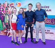2018, 15 Juli. Pathe ArenA, Amsterdam. Premiere van Hotel Transsylvanie 3. Op de foto: Sara Dol en Sam Kroon