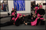 Frieze art Fair. Regent's Park, London, 19 October 2014