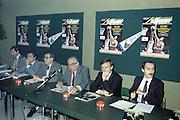 Presentazione Pubblicazione Conoscere il Basket Rizzoli<br /> vinci, petrucci, campana