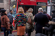 Commuters queue during the 24hr tube strike affecting Londoners and passengers throughout the capital, on 9th January 2017, at Victoria Station, London, England. The industrial action, coordinated by the Rail, Maritime and Transport (RMT) union and the Transport Salaried Staff's Association (TSSA), closed the vast majority of underground lines.