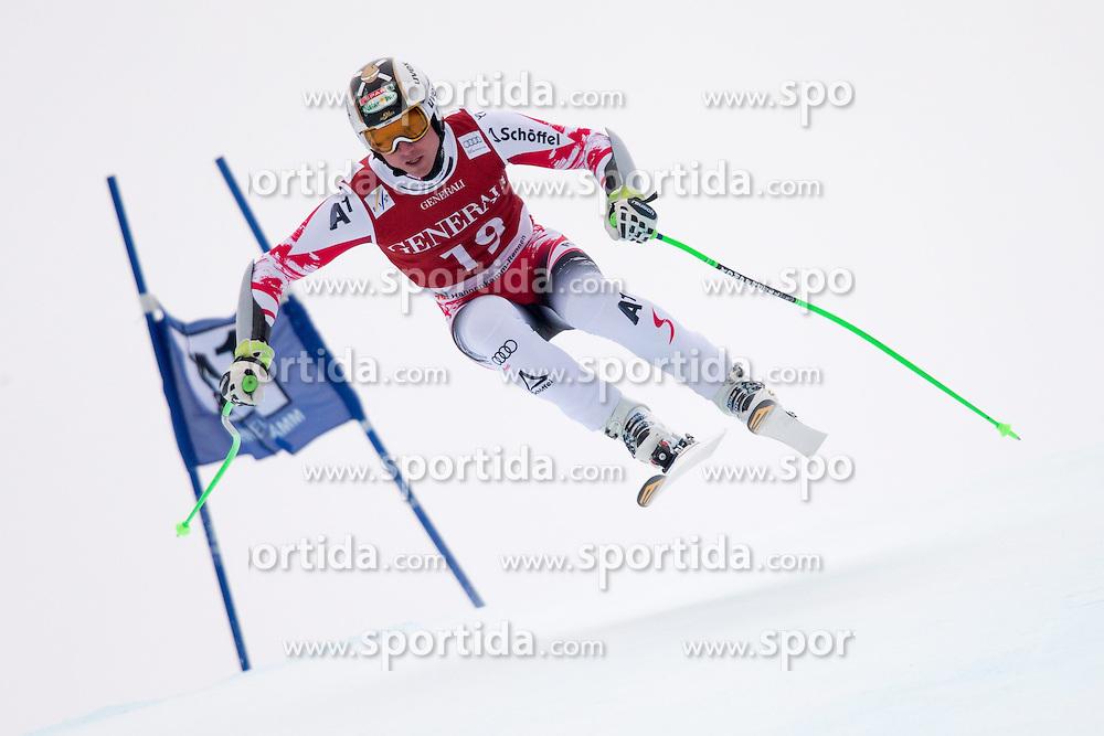 23.01.2015, Streif, Kitzbuehel, AUT, FIS Ski Weltcup, Supercombi Super G, Herren, im Bild Hannes Reichelt (AUT) // Hannes Reichelt of Austria in action during the men's Super Combined Super-G of Kitzbuehel FIS Ski Alpine World Cup at the Streif Course in Kitzbuehel, Austria on 2015/01/23. EXPA Pictures © 2015, PhotoCredit: EXPA/ Johann Groder
