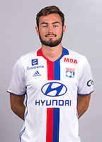 Lucas Tousart during the photocall of Lyon for new season of Ligue 1 on September 22nd 2016 in Lyon<br /> Photo : OL / Icon Sport