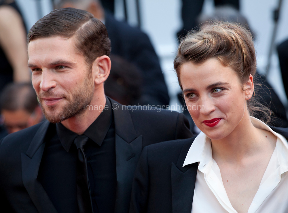 Arnaud Valois, Adele Haenel, arriving to the Closing Ceremony and awards at the 70th Cannes Film Festival Sunday 28th May 2017, Cannes, France. Photo credit: Doreen Kennedy