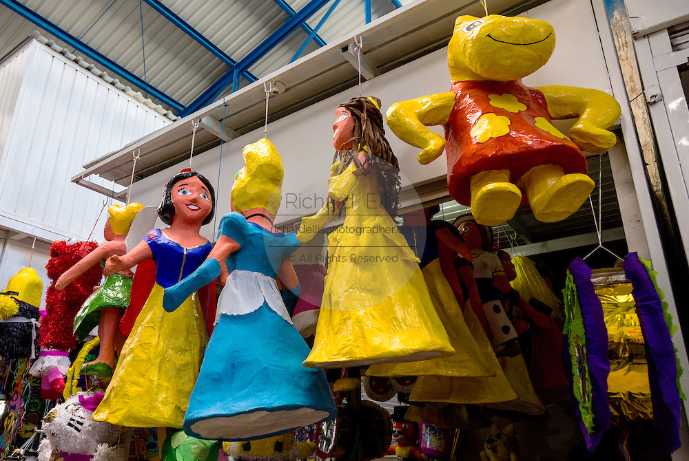 Disney character Piñata for sale in Oaxaca, Mexico.