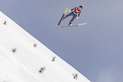 11.03.2019, Lysgards Schanze, Lillehammer, NOR, FIS Weltcup Skisprung, Raw Air, Lillehammer, Qualifikation, Herren, im Bild Clemens Aigner (AUT) // Clemens Aigner of Austria during the men's qualification of the 2nd Stage of the Raw Air Series of FIS Ski Jumping World Cup at the Lysgards Schanze in Lillehammer, Norway on 2019/03/11. EXPA Pictures © 2019, PhotoCredit: EXPA/ JFK