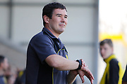 Burton Albion manager Nigel Clough during the EFL Sky Bet Championship match between Burton Albion and Aston Villa at the Pirelli Stadium, Burton upon Trent, England on 8 April 2017. Photo by Richard Holmes.