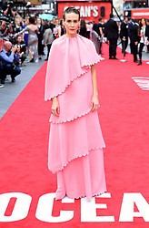 Sarah Paulson attending the European premiere of Oceans 8, held at the Cineworld in Leicester Square, London. Picture date: Wednesday 13th June, 2018. See PA story SHOWBIZ Oceans8. Photo credit should read: Ian West/PA Wire