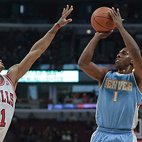 11-08 Denver Nuggets at Chicago Bulls