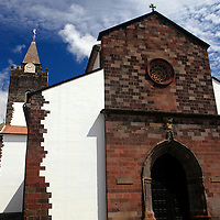 Europe, Portugal, Madeira. The Cathedral of Funchal, Madeira.