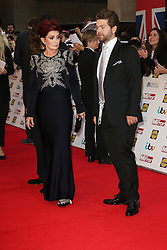 Sharon Osbourne, Jack Osbourne, Pride of Britain Awards, Grosvenor House Hotel, London UK. 28 September, Photo by Richard Goldschmidt /LNP © London News Pictures