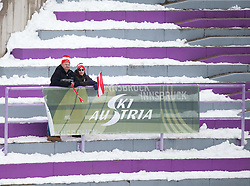 03.01.2015, Bergisel Schanze, Innsbruck, AUT, FIS Ski Sprung Weltcup, 63. Vierschanzentournee, Innsbruck, im Bild Fan Feature // Fans in the Stadium during 63rd Four Hills Tournament of FIS Ski Jumping World Cup at the Bergisel Schanze in Innsbruck, Austria on 2015/01/03. EXPA Pictures © 2015, PhotoCredit: EXPA/ JFK