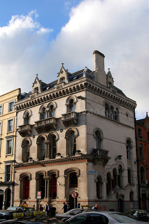 Trinity Arch Hotel, Dublin, on Dame Street Dublin, splendid architecture in central Dublin..