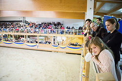 Spectators during Equestrian competition  FEI Grand Prix World Cup Celje 2014, on November 30, 2014 in Equestrian Centre Celje, Slovenia. Photo by Vid Ponikvar / Sportida