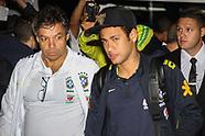 Llegada al Hotel de la Selección Brasileña