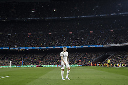 February 6, 2019 - Barcelona, Spain - 08 Toni Kroos of Real Madrid during the semi-final first leg of Spanish King Cup / Copa del Rey football match between FC Barcelona and Real Madrid on 04 of February of 2019 at Camp Nou stadium in Barcelona, Spain  (Credit Image: © Xavier Bonilla/NurPhoto via ZUMA Press)