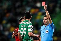 Bruno Esteves / Tobias Figueiredo - 09.03.2015 - Sporting / Penafiel - Liga Sagres<br /> Photo : Carlos Rodrigues / Icon Sport