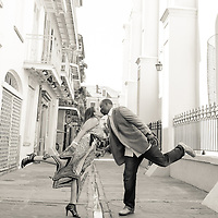 JD & Rosita Engagement Album Audobon Park French Quarter, Bourbon Street, 2014, | 1216 Studio New Orleans Wedding Photography