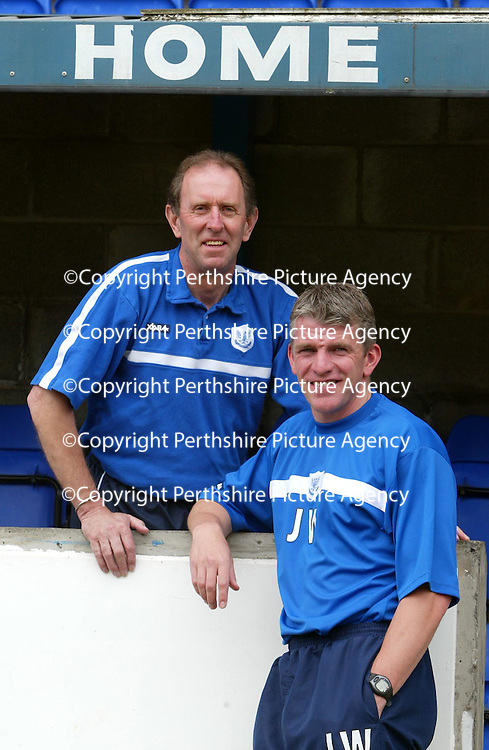 New St Johnstone boss John Connolly appoints Jim Weir as his first team coach.<br />see story by Gordon Bannerman Tel: 01738 553978 or 07729 865788<br />Picture by Graeme Hart.<br />Copyright Perthshire Picture Agency<br />Tel: 01738 623350  Mobile: 07990 594431