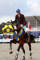 Leprevost Pénélope (FRA) - Oscar des Fontaines<br /> FEI World Breeding Jumping Championships for Young Horses 2010<br /> Photo © Hippo Foto - Leanjo de Koster