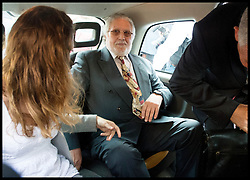 Former Radio One DJ Dave Lee Travis leaving Westminster Magistrates Court in London, Friday, 23rd August 2013. Picture by Andrew Parsons / i-Images