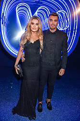 Chloe Lloyd and Josh Cuthbert at the Warner Music & Ciroc Brit Awards party, Freemasons Hall, 60 Great Queen Street, London England. 22 February 2017.