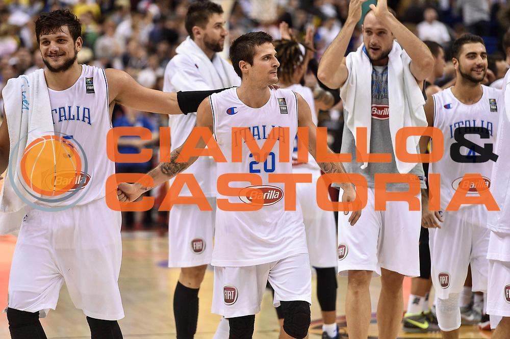 DESCRIZIONE : Berlino Berlin Eurobasket 2015 Group B Germany Germania - Italia Italy<br /> GIOCATORE : Andrea Cinciarini<br /> CATEGORIA : Ritratto Postgame<br /> SQUADRA : Italia Italy<br /> EVENTO : Eurobasket 2015 Group B<br /> GARA : Germany Italy - Germania Italia<br /> DATA : 09/09/2015<br /> SPORT : Pallacanestro<br /> AUTORE : Agenzia Ciamillo-Castoria/GiulioCiamillo