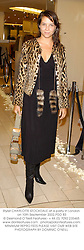 Stylist CHARLOTTE STOCKDALE at a party in London on 10th September 2002.PDD 83