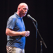 Matt Wrack, General Secretary of the FBU speaking at the #KeepCorbyn event, part of the #JC4PM tour a fringe event orgainised as part of the TUC 2016 by PCS. Brighton, UK.