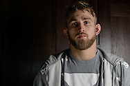 LONDON, ENGLAND, MARCH 5, 2014: Alexander Gustafsson poses for a portrait inside One Embankment in London, England (Martin McNeil for ESPN)