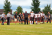 20160826 Peoria High Lions at Normal West Wildcats football photos