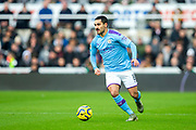 Ilkay Gundogan (#8) of Manchester City on the ball during the Premier League match between Newcastle United and Manchester City at St. James's Park, Newcastle, England on 30 November 2019.