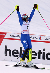 26.01.2018, Lenzerheide, SUI, FIS Weltcup Ski Alpin, Lenzerheide, Alpine Kombination, Damen, im Bild Marta Bassino (ITA, 2. Placed) // Marta Bassino from Italie reacts after the Slalom competition for the ladie's Alpine combination of the FIS ski alpine world cup in in Lenzerheide, Austria on 2018/01/26. EXPA Pictures © 2018, PhotoCredit: EXPA/ Sammy Minkoff<br /> <br /> *****ATTENTION - OUT of GER*****
