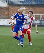 - Forfar Farmington v Spartans in the Scottish Womens Premier League at Station Park, Forfar. Photo: David Young<br /> <br />  - &copy; David Young - www.davidyoungphoto.co.uk - email: davidyoungphoto@gmail.com