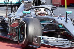 February 18, 2019 - Spain - Lewis Hamilton (Mercedes AMG Petronas Motosport) seen in action during the winter test days at the Circuit de Catalunya in Montmelo  (Credit Image: © Fernando Pidal/SOPA Images via ZUMA Wire)