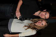 OWEN SHEERS; ATHENA ANDREADIS, Party following the Theatre Royal press night performance of The Lion in Winter , The Institute of Directors. London. 15 November 2011. <br /> <br />  , -DO NOT ARCHIVE-© Copyright Photograph by Dafydd Jones. 248 Clapham Rd. London SW9 0PZ. Tel 0207 820 0771. www.dafjones.com.