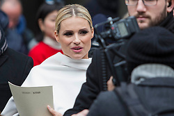 Celebrities at the Giorgio Armani Fashion Show during the Milan Fashion Week 2018 on February 24, 2018. 24 Feb 2018 Pictured: Michelle Hunziker at the Giorgio Armani Fashion Show during the Milan Fashion Week 2018 on February 24, 2018. Photo credit: Stefano Costantino / MEGA TheMegaAgency.com +1 888 505 6342