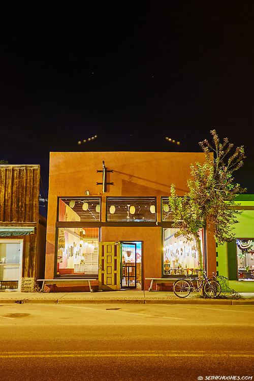 Asian Palate restaurant on Main Street in Buena Vista, Colorado.